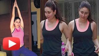 Kareena Kapoor Fitness Routine | Post Pregnancy Workout | Yoga For Weight Loss | Taimur Ali Khan