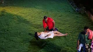Barsaat Song Making clip - Bhojpuri film - Ranjit singh , Apurva bit