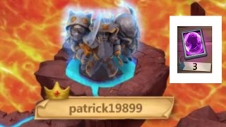 Rank 1 On Castle Crisis Ember Army Over 500 Mil Dmg Castle Clash