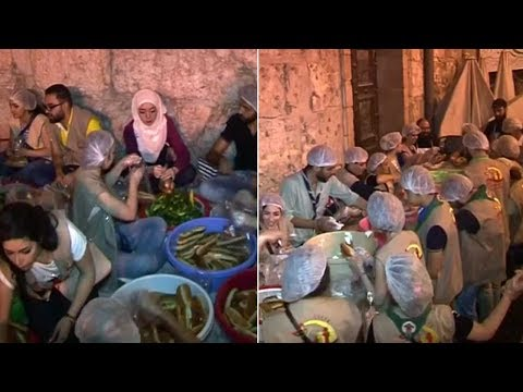 Xxx Mp4 Syria S Christians Provide Ramadan Meals For Muslim Neighbours 3gp Sex