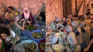 Syria's Christians provide Ramadan meals for Muslim neighbours