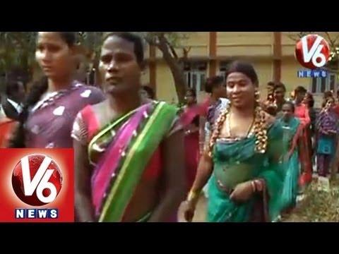 Hijras Demands To AP Government || No Identity || V6 News