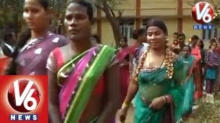 Hijras Demands To AP Government || No Identity || V6 News
