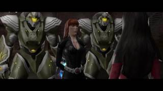 Marvel Ultimate Alliance 2 on PS4 - Vs Blackwidow, War Machine and Bishop