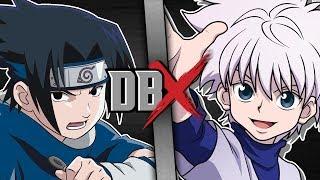 Sasuke VS Killua (Naruto VS Hunter x Hunter) | DBX