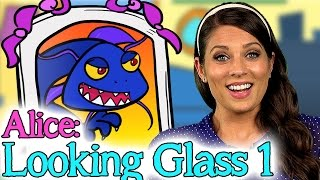 Alice Through the Looking Glass - Part 1   Story Time with Ms. Booksy at Cool School