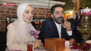 مجری زن سرشناس تلویزیون عروس شد/این شما و این زوج جدید هنر ایران/قسمت اول