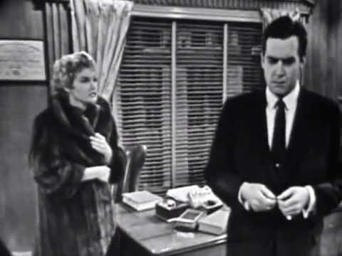 Raymond Burr Screen Test as Perry Mason 1956