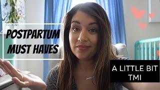 Postpartum Must Haves! | Basic Everyday Postpartum Essentials
