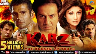 Karz Full Hindi Movie | Sunny Deol | Sunil Shetty | Shilpa Shetty | Hindi Movies | Action Movies