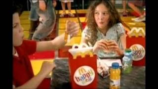 McDonalds Happy Meal - MP3 Players + Girls Aloud Competition 2006 UK TV Advert