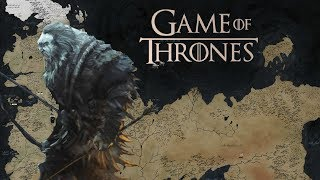 Entire Game of Thrones Map/World Detailed