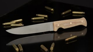 Making a Military-style Combat Knife