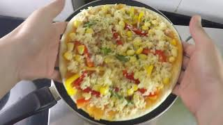 EASY & QUICK  - Home Made PIZZA Recipe in HINDI.