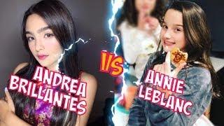 Andrea Brillantes VS Annie LeBlanc l Battle Musers l Musical.ly Compilation