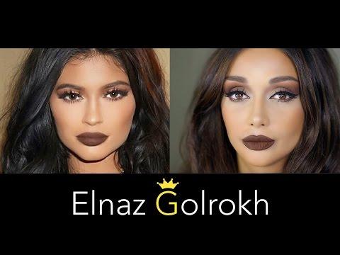 KYLIE JENNER MAKEUP TUTORIAL | Elnaz Golrokh