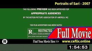 Watch: Portraits of Sari (2007) Full Movie Online