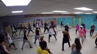 """Adult Hip-Hop w/Dee Delgado - Jason Derulo """"Tip Toe"""" (wantagh NY)"""
