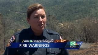 Feeling the heat: Wildfires more possible as mercury rises