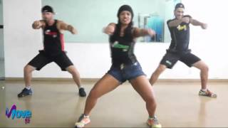 BAILE DE FAVELA - La Fúria - Choreography - MOVE fit