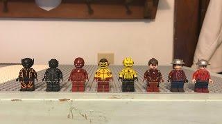 Custom Lego CW Speedster Showcase