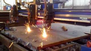 Flame Cutting @ Masteel UK Ltd