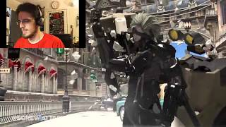 Wolverine vs Raiden Reaction video