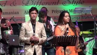 Priyanka Mitra and Alok katdare performing beautiful song