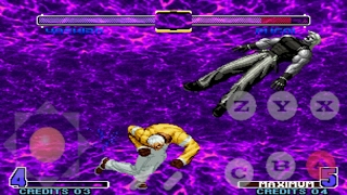 Kof 2005 plus para android  Tiger arcade y fba4droid