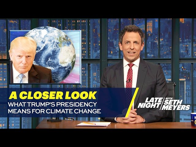 What Trump's Presidency Means for Climate Change: A Closer Look