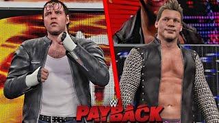 WWE 2K16 Payback 2016 - Dean Ambrose vs Chris Jericho Match - Payback 2016