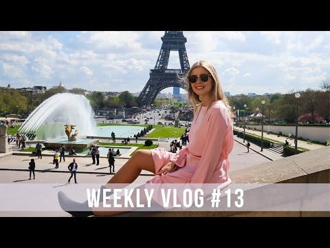 WEEKLY VLOG 13 FROM PARIS WITH LOVE Alice Trewinnard
