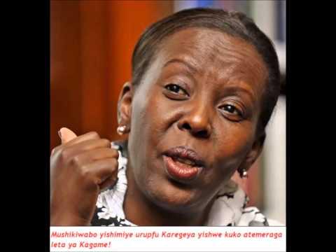 abanyarwanda bose bari hanze bagomba gupfa urwa Karegeya Mushikiwabo