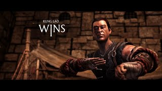 Mortal Kombat X - Kung Lao Victory Pose with NO HAT (All costumes)