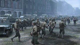WW2 - Allied Army vs German Army - Death Factory - Call of Duty WW2