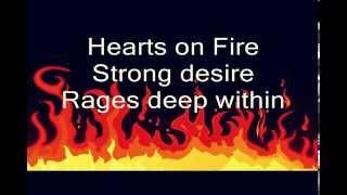 Lyrics to Hearts On Fire by John Cafferty