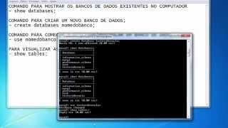 Aprendendo MySQL - SQL no Console - Parte 01