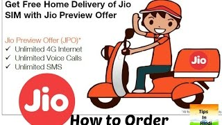 Jio Home Delivery | How to Order | Full process (Hindi)