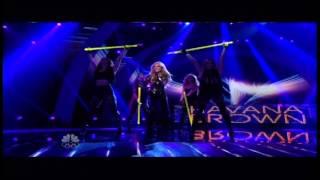HAVANA BROWN  We Run The Night LIVE at America's Got Talent