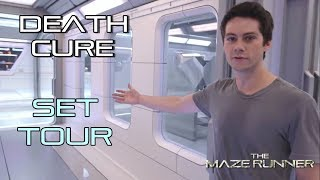 Maze Runner: THE DEATH CURE - Set Tour  | SUBTITULOS ESPAÑOL |