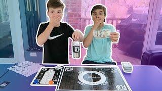 BOTTLE FLIP BOARD GAME FOR MONEY!! *100 DOLLARS*