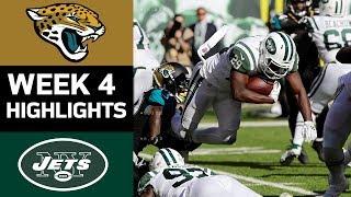 Jaguars vs. Jets   NFL Week 4 Game Highlights