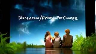 Disney: Friends for a Change - Selena Gomez, Demi Lovato and Miley Cyrus