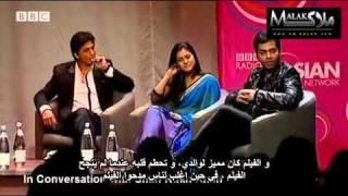 SRK,Kajol and Karan at BBC with arabic subtitle Part 7.rv