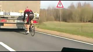 دراجة هوائية أسرع من شاحنة - YouTube