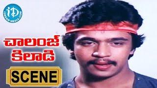 Challenge Khiladi Movie Scenes - Arjun Saves Kalpana From Goons || Arjun, Sri Priya