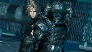 Final Fantasy VII Cloud & Final Fantasy XII Judge Master Outfit Cutscenes