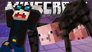Minecraft | THE MUTANT SPIDERPIG!! | Custom Mod Showcase