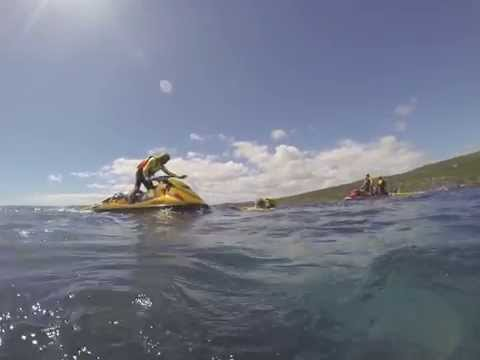 SLSWA Lifesavers & WA Police: Jet Ski Training at Canal Rocks 2015