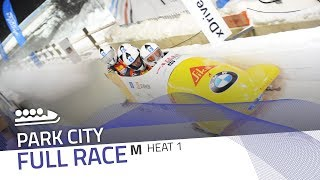 Park City | BMW IBSF World Cup 2017/2018 - 4-Man Bobsleigh Heat 1 | IBSF Official